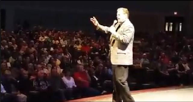 bob dutko speaking at large group